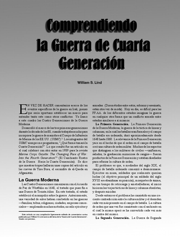 4 generacion