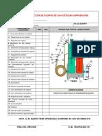 inspeccion equipo de oxi-corte y cilindros