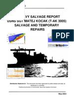 USNS KOCAK Salvage and Temporary Repairs.pdf