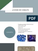 Aleaciones de Cobalto y Niquel