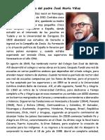 Historia del padre José María Vélaz