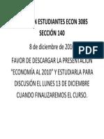 Anuncio ECON 3085