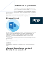 HOT MAIL Y GMAIL