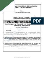 Dominguez Lostaló Ficha de Cátedra VULNERABILIDAD Psico social.pdf