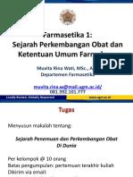 Farmasetika 1_Sejarah Perkembangan Obat dan Farmakope