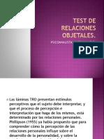 TEST DE RELACIONES OBJETALES