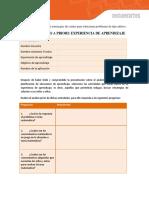 Pauta Analisis a priori 1º Basico U III