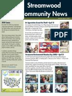 Streamwood Newsletter, March 2020