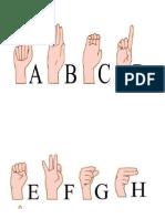 abecedario señas