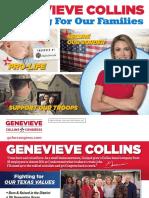 Genevieve Collins campaign mailer