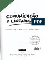 Capa livro Comunicação e escrita