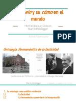 El Dasein y su cómo en el mundo.pptx