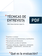 Técnicas de entrevista - Aspectos generales.ppsx