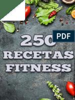 250 Recetas Fit