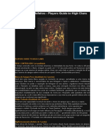 Vampire Dark Ages - Qualidades e Defeitos - Players Guide to High Clans [Português].doc
