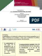 1. VISION GEOPOLITICA APLICADA AL PERU Y LOS NEGOCIOS INTERNACIONALES