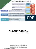 CLASIFICACION Y DX DE ENFERMEDAD CORONARIA
