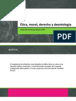 Ética, Moral, Derecho y Deontología1