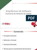 INTEC - IDS309 - 4 - Escenarios de Atributos de Calidad