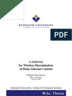 1 Gateway