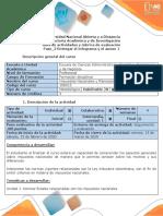 Guía de actividades y rúbrica de evaluación - Fase 2 - Entregar el infograma y el anexo 1
