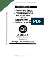 Burad_V_Amilsa_Codigo_Etica_Procedimiento_Profesional_Interpretes_LS_2001