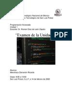 Programación Menchaca Zamarrón Ricardo