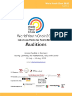 WYC 2020 - Information for Indonesian Singers
