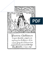Doctrina Christiana, Manila, 1593