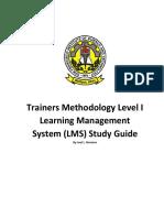 SFIST LMS study guide