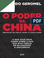 O poder da China - Ricardo Geromel