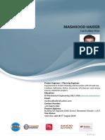 Mashhood Haider Mechanical       Engineer