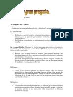 Windows vS