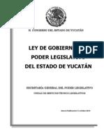 Ley de Gobierno Del Poder Legislativo