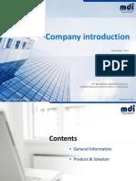 MDI Company Profile - Partner r2