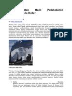 Polutan-polutan Hasil Pembakaran Batubara Pada Boiler.docx