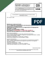 VDE 0750-1-3 Ber 1 DIN EN 60601-1-3 Ber 1 2010-05