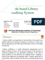 Library Auditing System