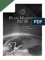 Plan Maestro 2020 FINAL
