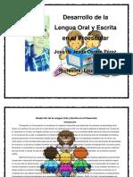Desarrollo de la Lengua Oral y Escrita en el Preescolar