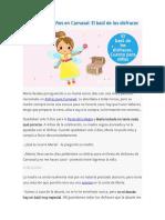 Cuentos para niños en Carnaval