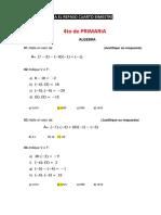 Repaso Examen Cuarto Bimestre de Matematica - Prof Abel