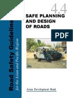 Safe Planning and Design of Roads -ADB