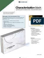 PA Caracterization Block