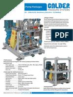 Methanol Inj Pump Packages