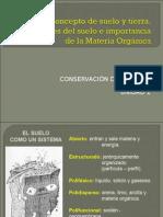 1 y 2. Concepto e Import an CIA Del Suelo