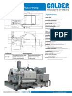 CRI 1680 Triplex Plunger Pump