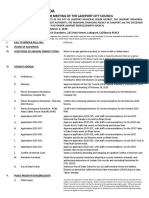 030320 Lakeport City Council agenda packet