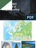 Diferentieri climatice si biogeografice (1)