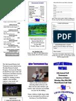 10 Golf Tourney Brochure